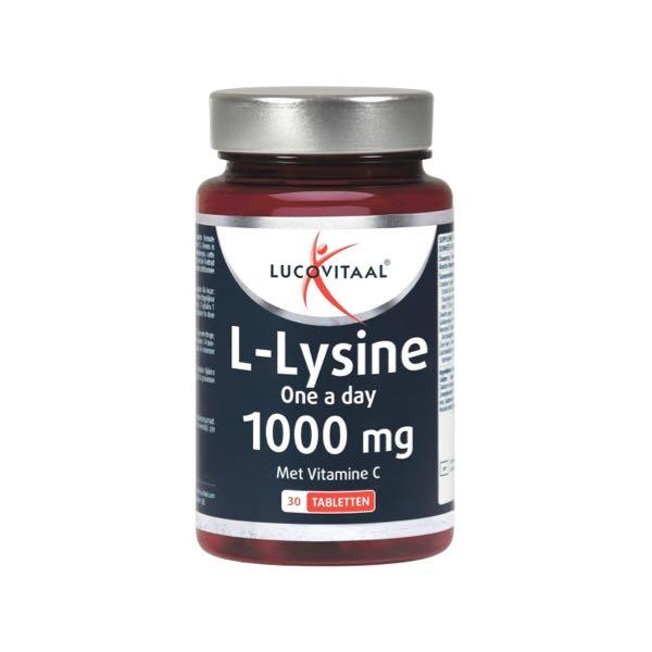 Lucovitaal L-Lysine Tabletten