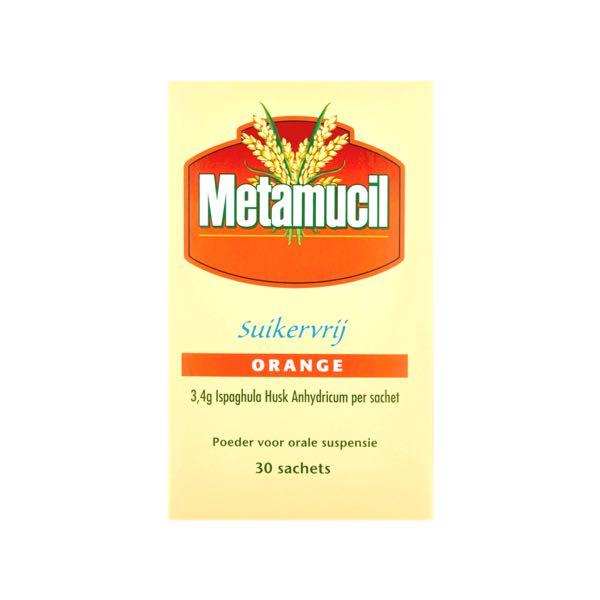 Metamucil Suikervrij Orange